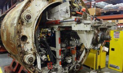 1986 Lovat TBM 19- M102SE 102 inch Tunnel Boring Machine