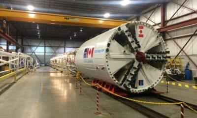 1980 Lovat TBM13-M126SE/RL 126 inch Tunnel Boring Machine