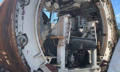 2009 Lovat TBM 20- 159 Inch MP159SE Tunnel Boring Machine.