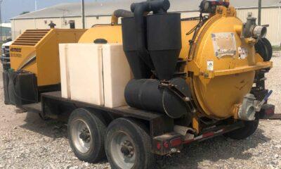 2016 Vermeer McLaughlin VX50-800LT vacuum trailer