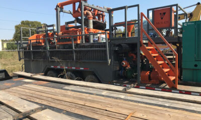 2016 Tulsa Rig Iron MCS425 recycler cleaner