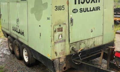 2006 Sullair 1150XH compressor