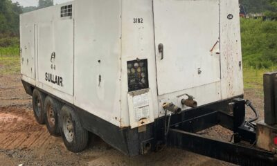 2006 Sullair 1150XH with aftercooler