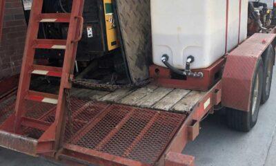 Vermeer D6x6 directional drill MX125 mixer Ditch Witch trailer